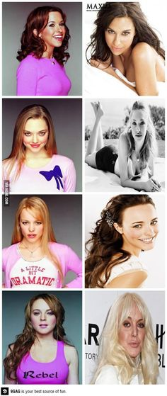 Mean Girls then and now: Damn Africa, what happened? @♚ NIDIA  @Samantha Niewadomski