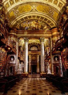 Austrian National Library I by pingallery.deviantart.com on @deviantART