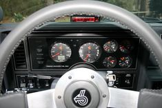 Gauge setup in my 1986 Buick Grand National.