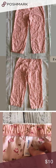 Gap Body Floral Pink Pjs Sleepwear Lounge Pants XL Gap Body Women's Floral Pink Pjs Sleepwear Lounge Pants Sz XL GAP Intimates & Sleepwear Pajamas