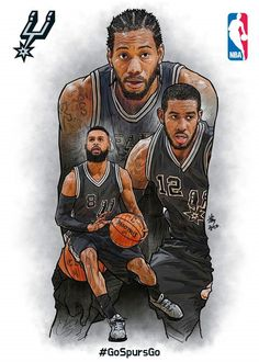 (Southwest) San Antonio Spurs - My Wallpaper Basketball Art, Basketball Leagues, Basketball Pictures, Basketball Legends, Basketball Players, Nba Kings, Nba Pictures, Sports Graphic Design, Nba Wallpapers