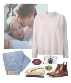 """""""Lo"""" by annasrgvalim on Polyvore featuring мода, Chrome Hearts, Le Ciel Bleu, Levi's, Lime Crime и Church's"""