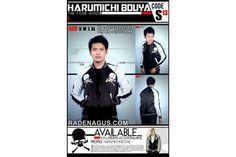 JAKET SUKAJAN HARUMICHI BOUYA KODE : S-13