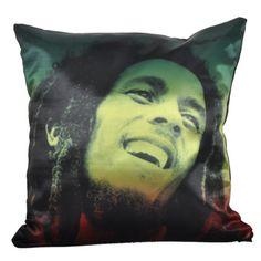 **Bob Marley** Crazy Cushion. More fantastic pillows, pictures, music and videos of *Bob Marley* on: https://de.pinterest.com/ReggaeHeart/ ©urbanNYCdesigns