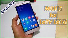 Install MIUI 7 custom ROM on LeTV Le 1s