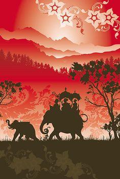 xx..tracy porter..poetic wanderlust-Indian Elephants and monkeys, Lara Allport