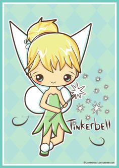 Tinkerbell fan art. ❣Julianne McPeters❣ no pin limits