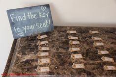 Keys for table markers