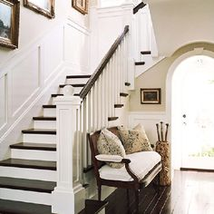 hallway stairs