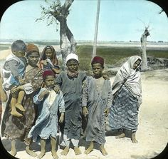 Egypt: Egyptian Children, Ramleh by Brooklyn Museum, via Flickr about 1900