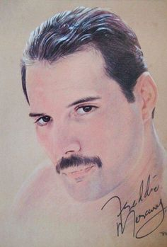 Portrait of Freddie Mercury by Tom-Heyburn on Stars Portraits, the biggest online gallery for celebrity portraits. Queen Drawing, Princes Of The Universe, Queen Pictures, Queen Love, Pastel Portraits, Queen Art, Real Queens, Greatest Rock Bands, Portrait Pictures
