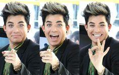 Adam Lambert: He's so expressive!
