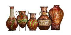 Deco 79 Metal Vase Wall Decor 17 by 38 >>> Visit the image link more details.