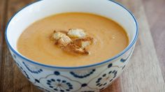 Rich and creamy one-pot vegetable soup.