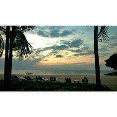 Sunset at royal santrian Bali