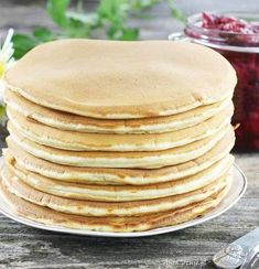 Pancakes placki z serka homogenizowanego -waniliowy puch, 3 Salty Cake, Savoury Cake, Mini Cakes, Other Recipes, Clean Eating Snacks, Easy Meals, Food And Drink, Stuffed Peppers, Pizza