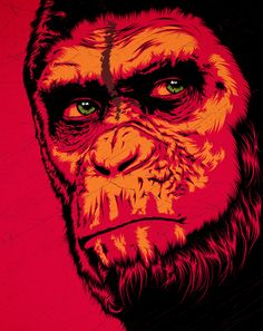 Dawn Of The Planet Of The Apes by Cranio Dsgn, via Behance