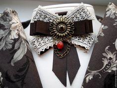 """Купить Брошь -орден""""Изыск"""" - коричневый, винтажные украшения, винтажная брошь, винтажное украшение, винтаж, брошь"""