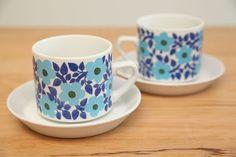 at kitchen [Arabia Finland Ahmet tea cup]