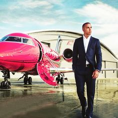 Lewis and his @bombardier_jets