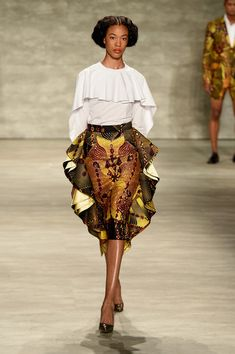 David Tlale - Runway - Mercedes-Benz Fashion Week Spring 2015