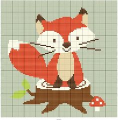 ♥embroidery designs →cross stitch pattern♥ by SoEasyPattern Just Cross Stitch, Cross Stitch Baby, Cross Stitch Animals, Cross Stitching, Cross Stitch Embroidery, Embroidery Patterns, Cross Stitch Designs, Cross Stitch Patterns, Pixel Art