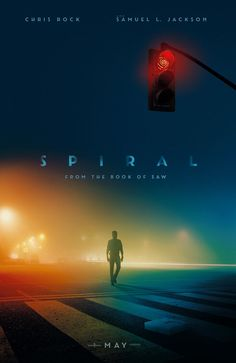 'Spiral' - From the book of 'Saw:' A sadistic mastermind unleashes a twisted form of justice. Horror from the book of 'Saw' and starring Chris Rock and Samuel L. Horror Movie Quotes, Horror Movie Characters, Movie Memes, Horror Movie Posters, Film Posters, Jackson, Hd Movies, Movies Online, New Movies 2020