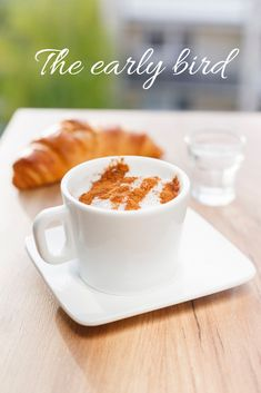 The early bird gets the worm, we all know that. Let's all be early birds, or at least try to accomplish our New Year's resolutions the best way we can!  #earlybird #wakeupearly #resolutions #coffeeaddict #coffee #improvement