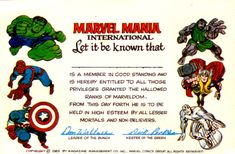 SILVER AGE SHOWCASE PRESENTS Visions Of The Hallowed Ranks Of Marveldom Spotlight On The Marvel Mania Club Circa 1969