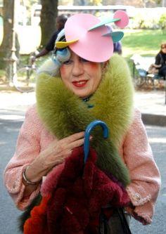 My ultimate style icon Anna Piaggi