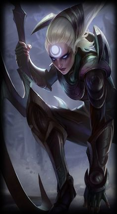 Diana. More for jungle and/or mid.