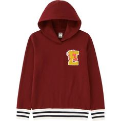 UNIQLO Women Sesame Street Sweat Graphic Pullover Hoodie (€31) ❤ liked on Polyvore featuring tops, hoodies, sweatshirts hoodies, pullover hoodies, pullovers and red pullover hoodie