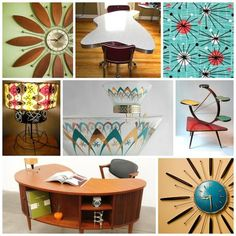 Find This Pin And More On Atomic Age Mid Century Home Décor