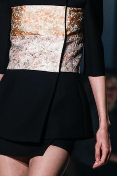 details @ Narciso Rodriguez Spring 2014