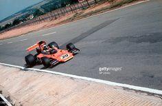 Ian Scheckter, brother of Jody, Team Gunston Lotus 72 South African GP at Kyalami. Get premium, high resolution news photos at Getty Images F1 Lotus, F1 Drivers, Extreme Sports, Grand Prix, Ephemera, Vintage Cars, Race Cars, South Africa, Ferrari