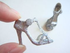 Handmade Miniature Shoes Polymer Clay by YinyingO