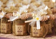 Honey Dippers for Jars of Honey
