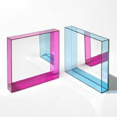 Only Me Mirror, Small & Kartell Only Me Rectangular Mirror | YLiving-  for a top surface-all plexiglass with hand utouts for tray table