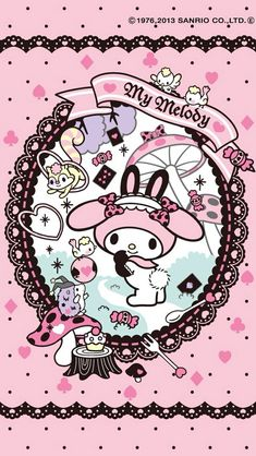 My Melody phone background