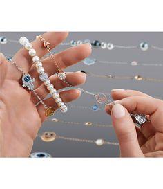 ffd514e06 Swarovski Remix Collection Faux-Pearl Line Bracelet Fine Jewelry, Chokers,  Swarovski, Jewelry