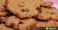 Zabpelyhes-almás keksz recept képpel. Hozzávalók és az elkészítés részletes leírása. A zabpelyhes-almás keksz elkészítési ideje: 35 perc Diabetic Recipes, Diet Recipes, Healthy Recipes, Healthy Cookies, Healthy Desserts, Sweet Desserts, Dessert Recipes, Health Eating, I Foods