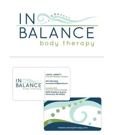 In Balance Body Therapy | branding by Cormier Creative