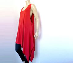 JM Philippe French Vintage Oversize Asymetric Blouse by bOmode, $55.00