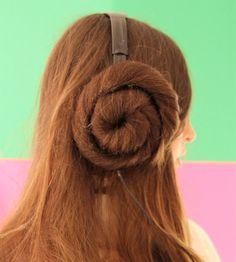 Princess Leia Headphone Covers