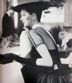 Suzy Parker by Lillian Bassman  Harper's Bazaar, July 1955.