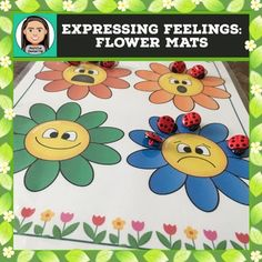 Expressing Emotions: Interactive Flower Mats with Ladybugs