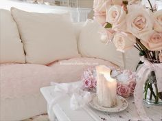 Pink lace-Romantic Home