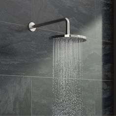 Bring a little luxury into your bathroom with this Circular Shower Head… Contemporary Shower, Contemporary Bathrooms, Modern Bathroom, Small Bathroom, Bathroom Ideas, Design Bathroom, Bathroom Storage, Bathroom Inspiration, Led Shower Head