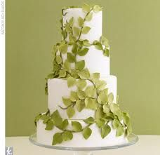 Leaf wedding cake!