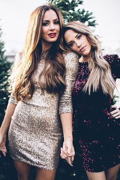 holiday dresses - sequins <3